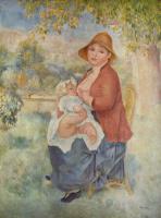 Pierre Auguste Renoir. Motherhood (Aline and Pierre)