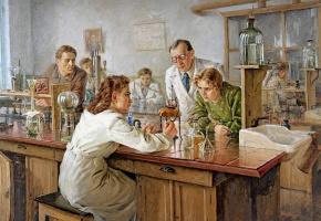 Николай Иванович Ульянов. Выполнение тестов в лаборатории