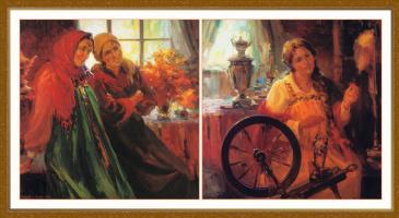 Лидия и Евгений Барановы. Наш царь жениться на мне...