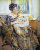 Ричард Эдвард Миллер. Мать и ребенок, 1909