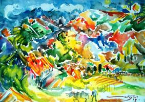 Robert Vardanovich Kamoyan. Landscape