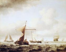 Виллем ван де Вельде Младший. Сюжет 11
