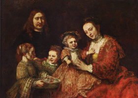 Рембрандт Харменс ван Рейн. Семейный портрет