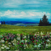 Алина Галкина. The Georgian landscape
