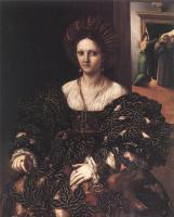 Джулио Романо. Портрет женщины