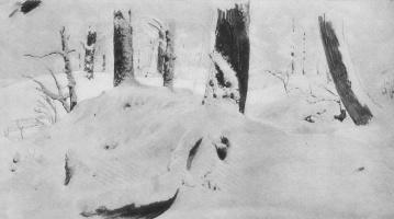 Иван Иванович Шишкин. Лес под снегом