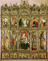 Карло Кривелли. Центральный алтарь кафедрального собора в Асколи, полиптих, общий вид