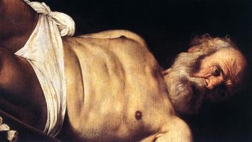 Микеланджело Меризи де Караваджо. Распятие Святого Петра. Фрагмент
