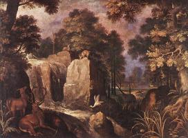 Рулант Саверей. Животные в лесу