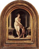 Ян Госсарт. Венера и Амур