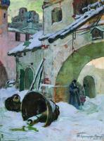 Иван Горюшкин-Сорокопудов. Упавшие колокола. 1930-е