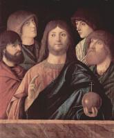 Витторе Карпаччо. Спаситель, благославляющий четырех апостолов