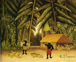 Анри Руссо. Банановый урожай