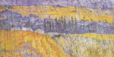 Винсент Ван Гог. Пейзаж в Овере в дождь