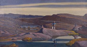 Рокуэлл Кент. Тассиусак. Гренландия