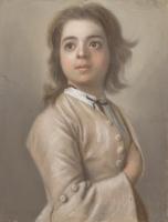Jean-Etienne Lyotard. Portrait of a boy
