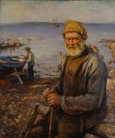 Ханс Хейердал. Старый рыбак