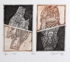 Leonid Valeryevich Stroganov. Card 1