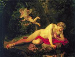 Карл Павлович Брюллов. Нарцисс, смотрящийся в воду