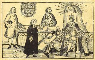 Карл Густав Берлинг. Шведский король принимает представителей сословий