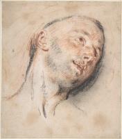 Антуан Ватто. Голова мужчины