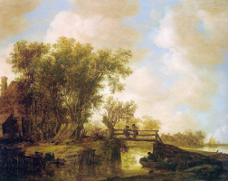 Ян ван Гойен. Лучи солнца