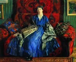 Boris Kustodiev. Portrait Of Y. E. Kustodieva