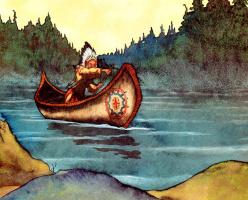 Майкл Хаг. 0008 Индейская Золушка