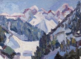Zhanatay Shardenov. Winter in the mountains