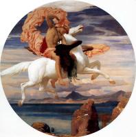 Сэр Фредерик Лейтон. Персей спасает Андромеду