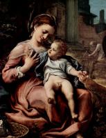Антонио Корреджо. Мария с корзиной