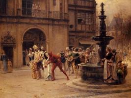 Адриан Моро. Карнавальная процессия в XVII веке