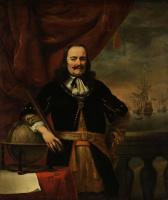 Фердинанд Балтасарс Боль. Портрет лейтенанта-адмирала Михаэля де Рюйтера