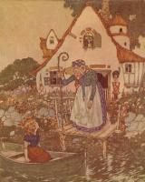 Эдмунд Дюлак. Иллюстрация к сказке Снежная Королева 005