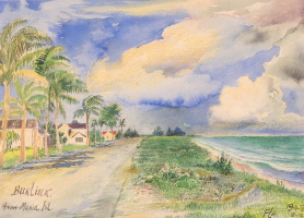 David Davidovich Burliuk. The Island Of Anna Maria