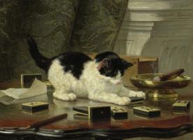 Генриетта Роннер-Книп. Кошачья игра