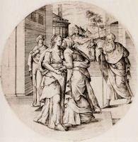 Ван Брук. Посещение Марией Елизаветы