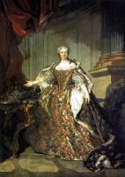 Луи Токке. Мария Лещинска, королева Франции, жена Людовика XV