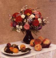 Анри Фантен-Латур. Фрукты и цветы