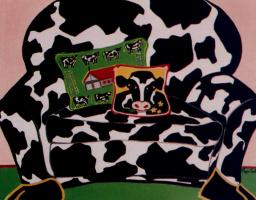Пегги Колтер. Коровий диван