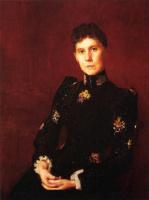 Томас Поллок Аншутц. Женщина в черном