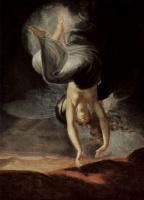 Иоганн Генрих Фюссли. Царица эльфов Титания находит на берегу моря волшебное кольцо