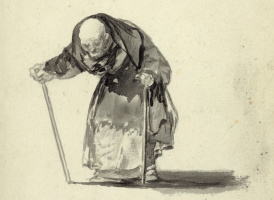 """Francisco Goya. """"He can not continue..."""""""