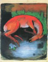 Франц Марк. Убитый олень