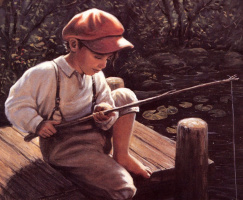 Эммануэль Гарант. Маленький рыбак