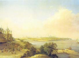 Никанор Григорьевич Чернецов. Вид города Ярославля