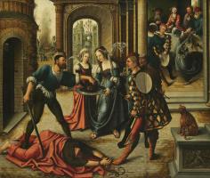 Бернард ван Орлей. Мученичество святого Иоанна Крестителя