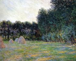 Клод Моне. Луг со стогами сена близ Живерни