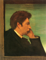 Джорджо де Кирико. Автопортрет