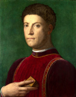 Аньоло Бронзино. Портрет Пьеро де Медичи